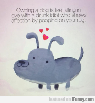 Owning A Dog Is Like...