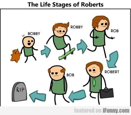 The Life Stages Of Roberts