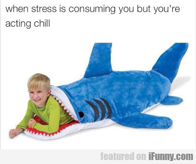 When Stress Is Consuming You...