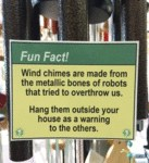 Wind Chimes Are Made From