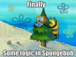 Finally, Some Logic On Spongebob...