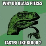 Why Do Glass Pieces...