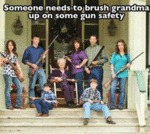 Someone Needs To Brush Grandma Up On...