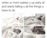 When Your Mom Wakes You Up Early