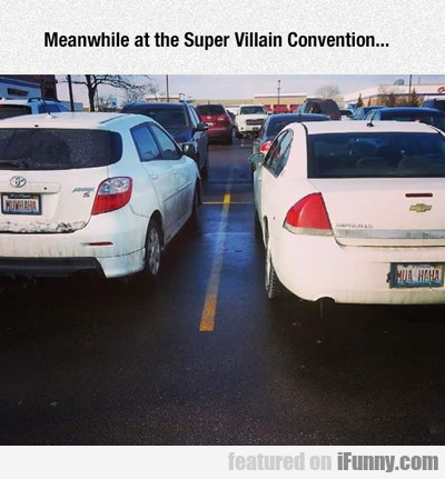 Meanwhile At The Super Villain Convention...