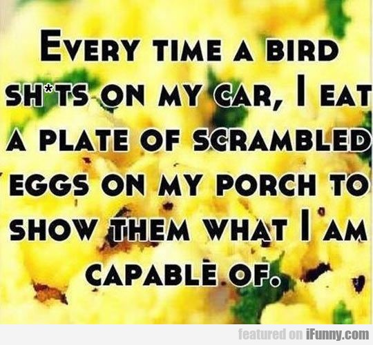 Every Time A Bird