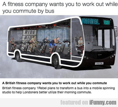 A Fitness Company Wants You To...
