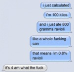 I Just Calculated...