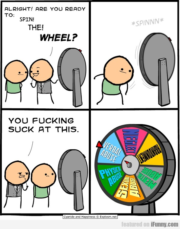 Alright! Are you ready to spin the wheel?