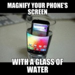 Magnify Your Phone's Screen...