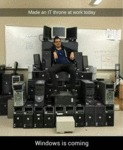 Made An It Throne At Work Today...