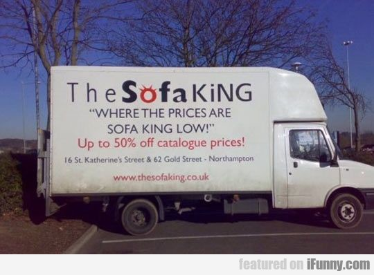 Where Prices Are Sofa King Low