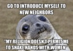Go To Introduce Myself To New Neighbors...
