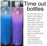 Time Out Bottles...