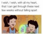 I Wish, I Wish With All My Heart...