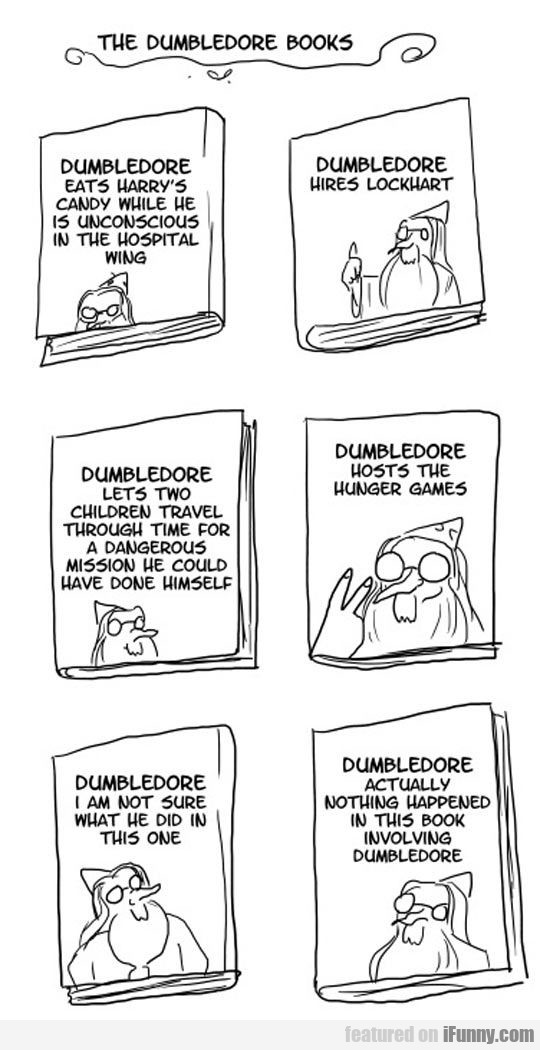 The Six Dumbledore Books