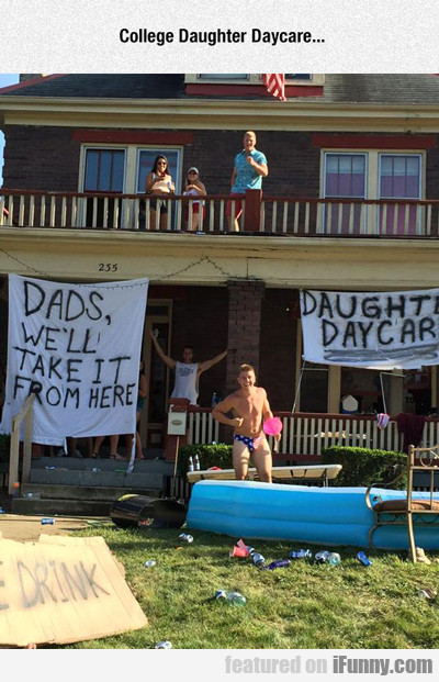 college daughter daycare...