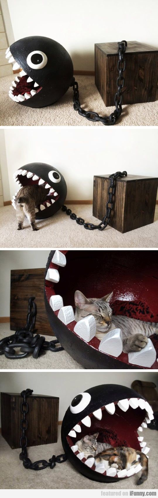 Chomp The Cat Bed
