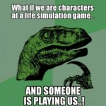 What If We Are Characters...