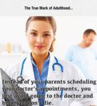 Instead Of Your Parents Scheduling Your