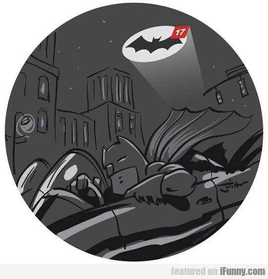 When Batman Procrastinates