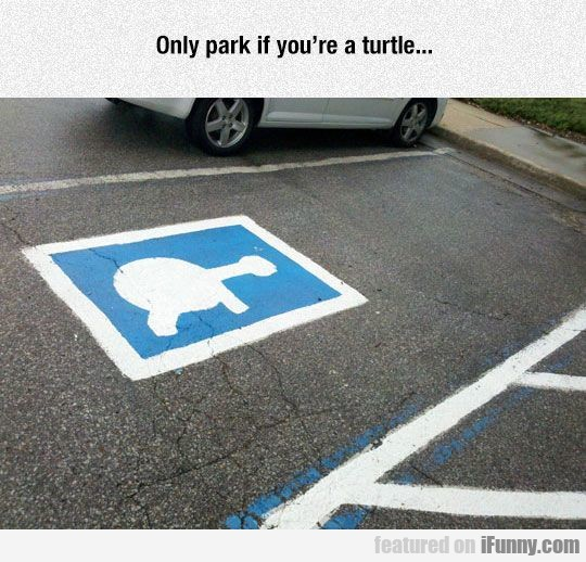 Only park if