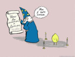 The Hard Life Of A Wizard