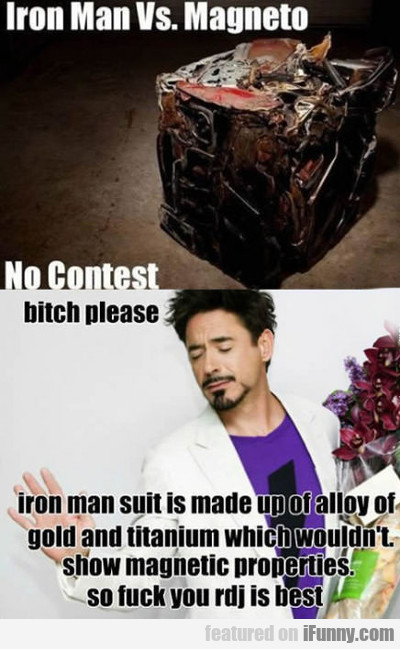 Iron Man Vs. Magneto...