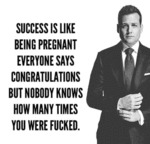 Success Is Like Being Pregnant...
