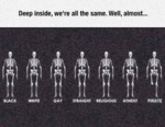 Deep Inside, We're All The Same...