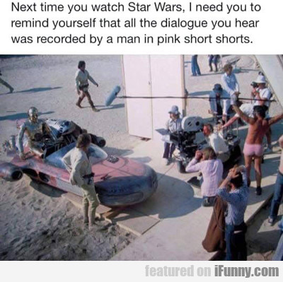 next time you watch star wars...