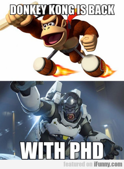 Donkey Kong Is Back With...