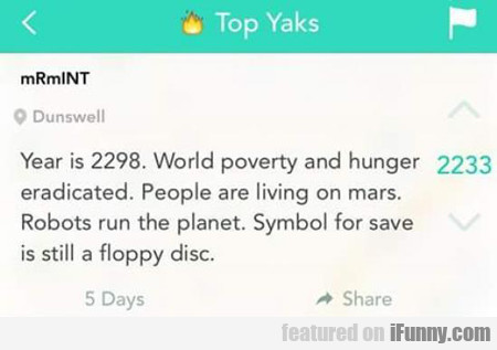year is 2298...