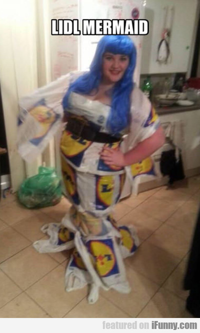 Lidl Mermaid...
