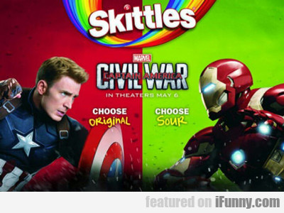 Skittles Civil War...