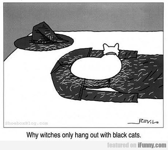 Why Witches Only Hang Out With