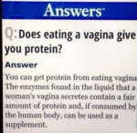 Does Eating A Vagina...