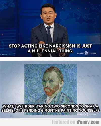 Stop Acting Like Narcissism...