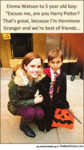 Emma Watson To A 5 Year Old Boy