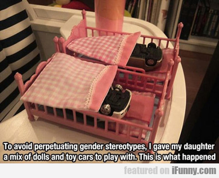 To Avoid Perpetuating Gender Stereotypes...