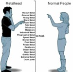 Metalhead Vs Normal People