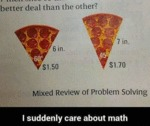 I Suddenly Care About Math...
