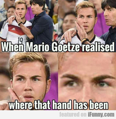 When Mario Realized...