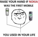 Raise Your Hand If Nokia...