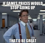 If Game Prices Would Stop Going Up...