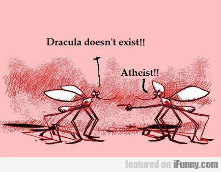 Dracula Doesn't Exist!!