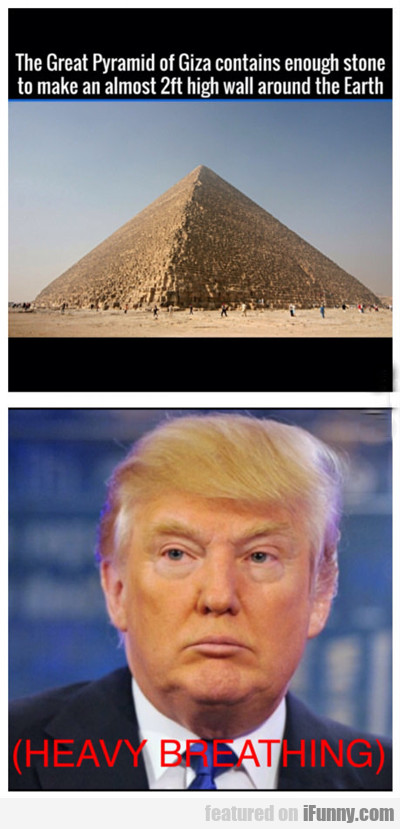 The Great Pyramid Of Giza...