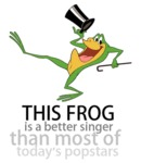 This Frog Is A Better Singer...
