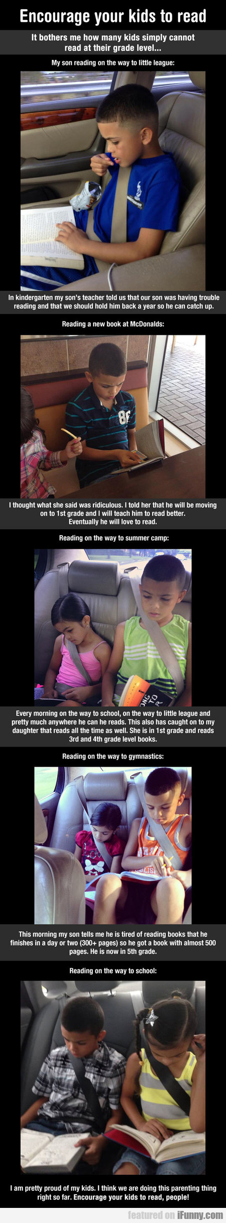 encourage your kids to read