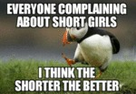 Everyone Complaining About Short Girls...